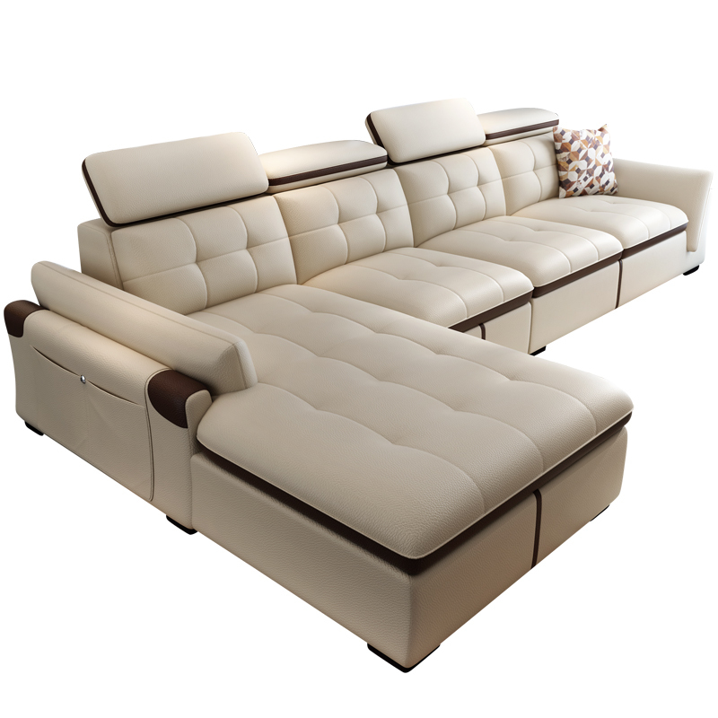 100% Wahr Asiento Zitzak Meble Tun Salonu Puff Couch Koltuk Takimi Moderno Para Sala Leder Mobilya Mueble Set Wohnzimmer Möbel Sofa