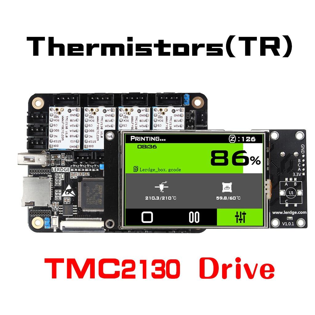 3.2inch Integrated Controller Board Mainboard +4 TMC2130 Stepper Motor Driver For Reprap 3D Printer 3da14 stepper motor driver module for 3d printer makerb reprap black silver