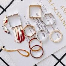 KC Позолоченные серьги, аксессуары, металлическая Очаровательная подвеска, компоненты, ожерелье, сделай сам, материал для изготовления ювелирных изделий, 4 шт