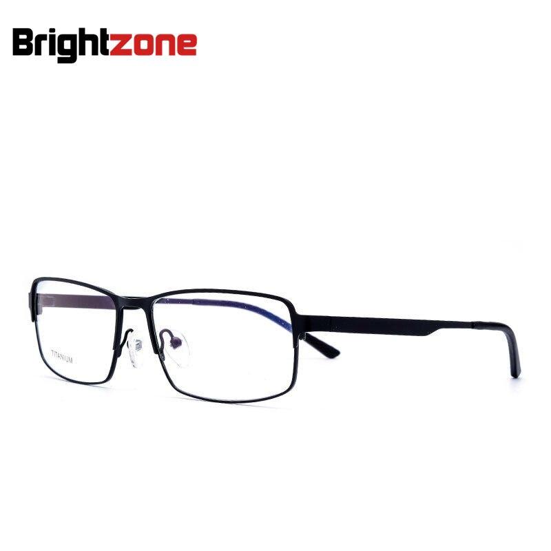 Excellente qualité Ultra-mince en alliage de titane optique lunettes cadre myopie vos lunettes méritantes 52-16-145-30-133mm