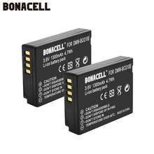 Bonacell 1300mAh DMW-BCG10 DMW BCG10 BCG10E Camera Battery For Panasonic Lumix DMC-3D1 DMC-TZ7 DMC-TZ8 DMC-TZ10 DMC-TZ18 L10 dste dmw bcf10gk bcf10e bcf10 s009e battery charger for dmc ft1 ft3 ts3 fs4 fs6 fs7 camera