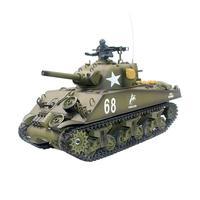 Heng Long 3898 1 2.4G 1/16 US Sherman M4A3 Tank Radio Control Battle Tank Model