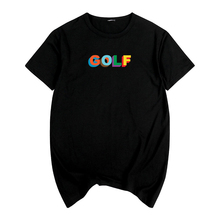 a9469ecad517 Golfed Wang Sk New 90th Tyler The Creator Skate Frank Ocean Letter Print Shirt  Male Black