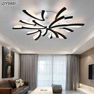Image 2 - الاكريليك سقف ليد حديث أضواء لغرفة المعيشة غرفة نوم الطعام المنزل داخلي مصباح تركيبات الإضاءة AC85 260V لوميناريا Lampada