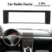 1 Din Auto Radio Stereo Fascia del Pannello Telaio In Lamiera Adattatore per AUDI A4 B6 2000-2006 Car Interior Trim