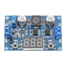 DC-DC Boost Module Set up Power Supply Voltage LED Voltmeter 3.5-30V 100W Good Quality Tool(China)