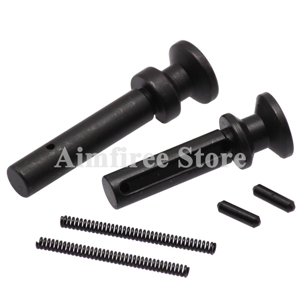 Tactical Mil-Spec .223/5.56 Extended Take Down Takedown Pivot Pins W/ Detent And Spring Rifle Accessories
