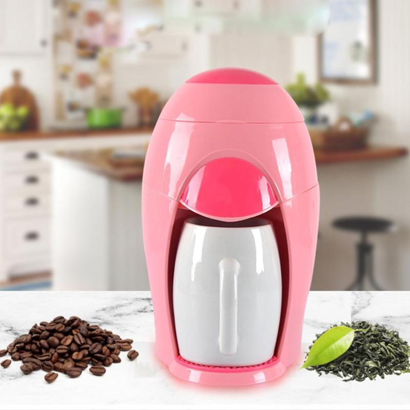 American coffee machine small drip tea maker household electric portable multi-function brewing coffee machine все цены
