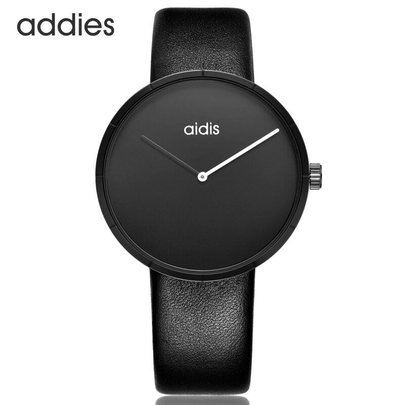 Valentines Unique Couple Watch Best Gifts For Lover Fashion Minimalism Genuine Leather Band Quartz Women Men Wrist Watches