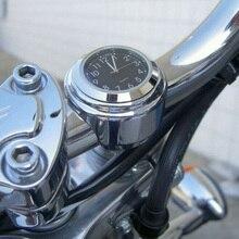 Универсальные мотоциклетные рулевые часы водонепроницаемые ручной захват бар Крепление Циферблат Топ крепление часы для скутера велосипед Мотоцикл ATV