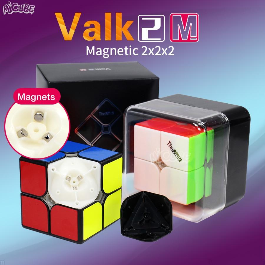 Valk2 M 2x2x2 Magnetic Cube Speed Valk2M Magic Cubes 2x2 Magnets The Valk Mofangge Qiyi Cubo Magico 2*2