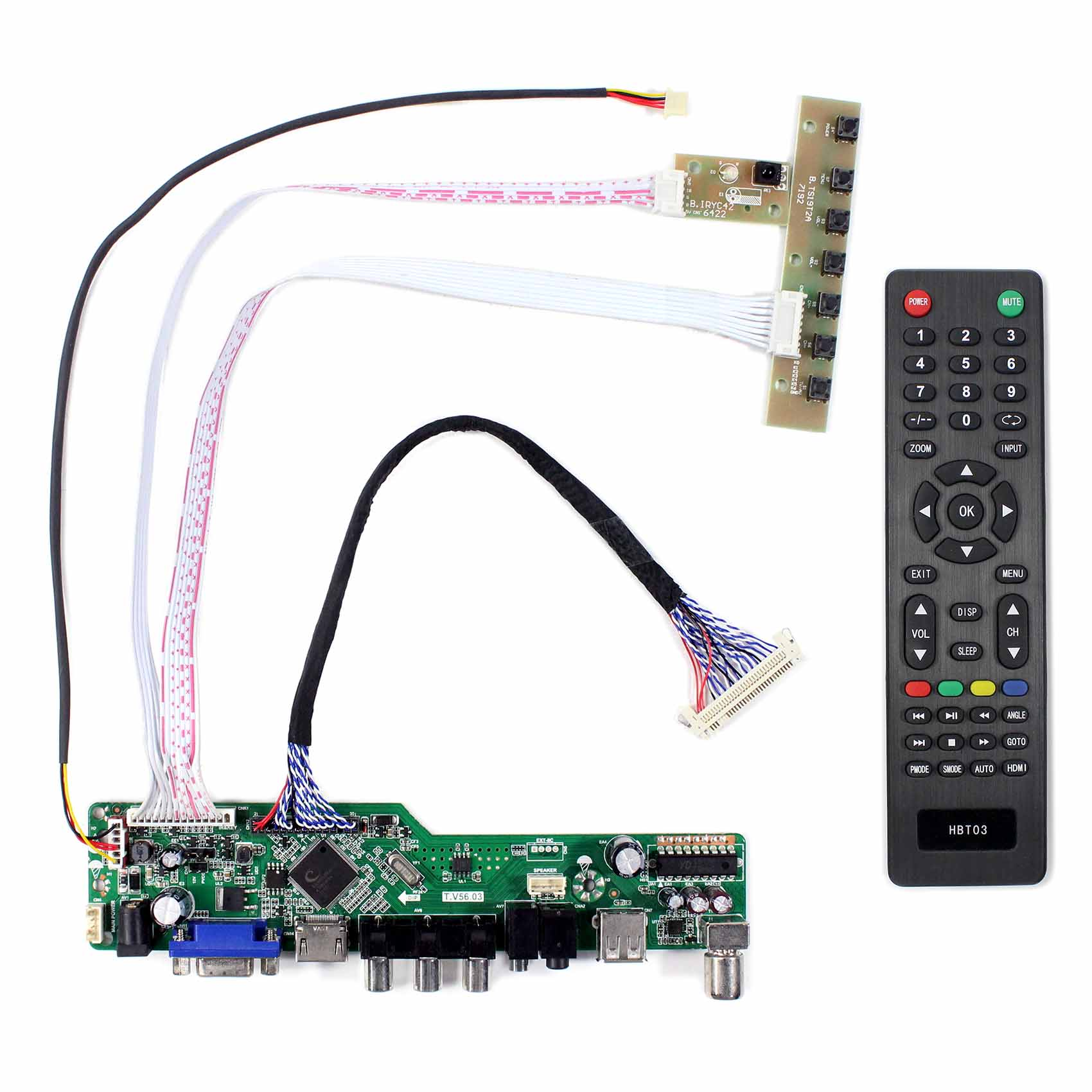 Fit To 18.5 G185HAN01.0 G185HAN01.1 LCD Screen 1920x1080 LCD Controller Board
