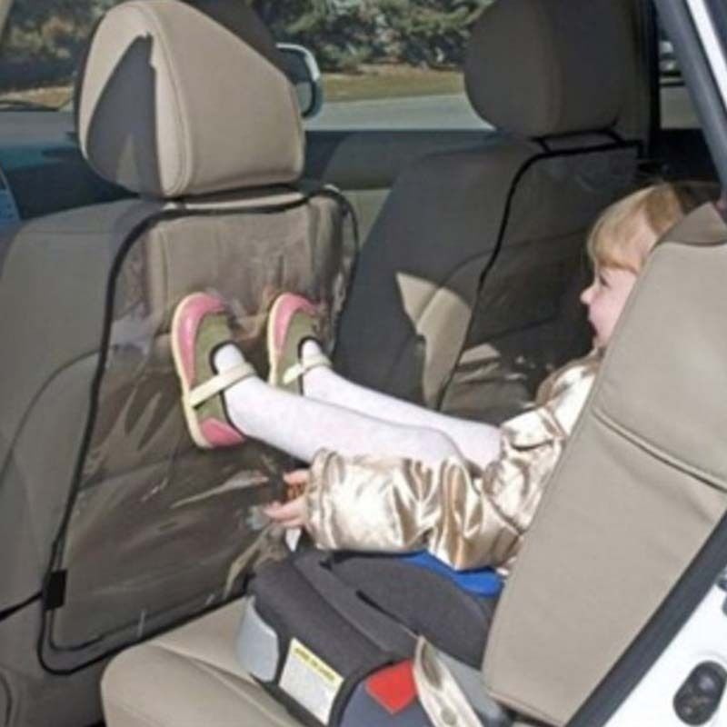 Anti Stepped Dirty Car Seat Back Cover Protector for Kids Baby Kick Chair Cover Auto Clear Mat