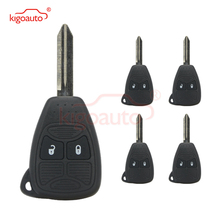 Kigoauto 5pcs 2 button 434Mhz 04589318AC for Chrysler Dodge 300C Calibre Nitro Voyager Remote head key fuel pump module assembly for 1996 2000 chrysler voyager town country dodge caravan plymouth voyager e7094m ty 122a