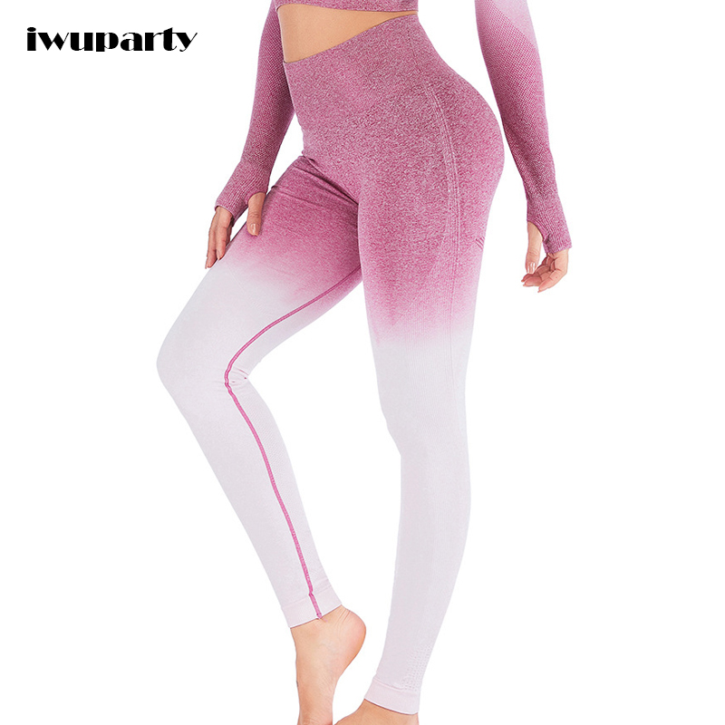 Women Seamless Yoga Pants Push up Sexy Sport Leggings Gym Fitness Tights High Waist Running Mallas