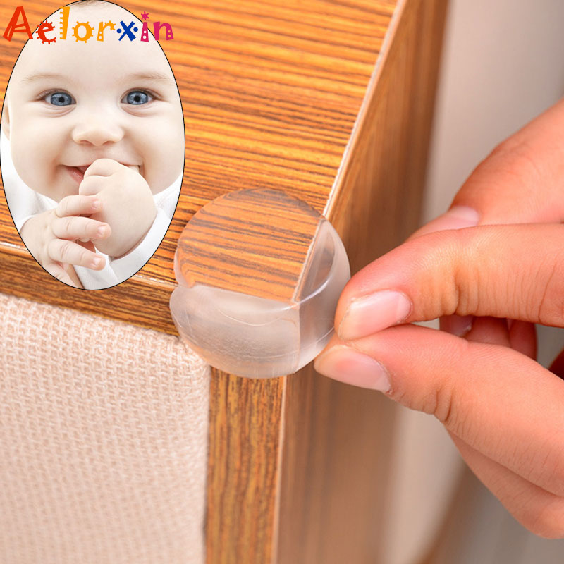 8Pcs/Lot Silicone Table Corner Children Protection Baby Safety  Protector Children Safety Edge Guards Child Protection Security