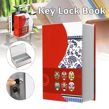 Mini Safe Box Book Books Money Hiddens Secret Box Security Safe Lock Cash Money Coin Storage Jewellery Key Locker For Kid Gift