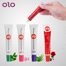 OLO Sex Lubricants Oil 30mL Enhance Pleasure Smooth Water-based Vagina Lubricants Edible Lube Sex Toys for Women Men