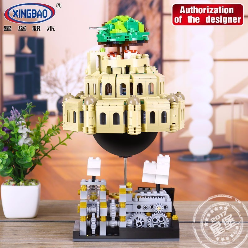 Xingbao Technic Series Building Blocks Castle In The Sky Assemble Plastic Model Brick Educational Kids Toys For ChildrenXingbao Technic Series Building Blocks Castle In The Sky Assemble Plastic Model Brick Educational Kids Toys For Children