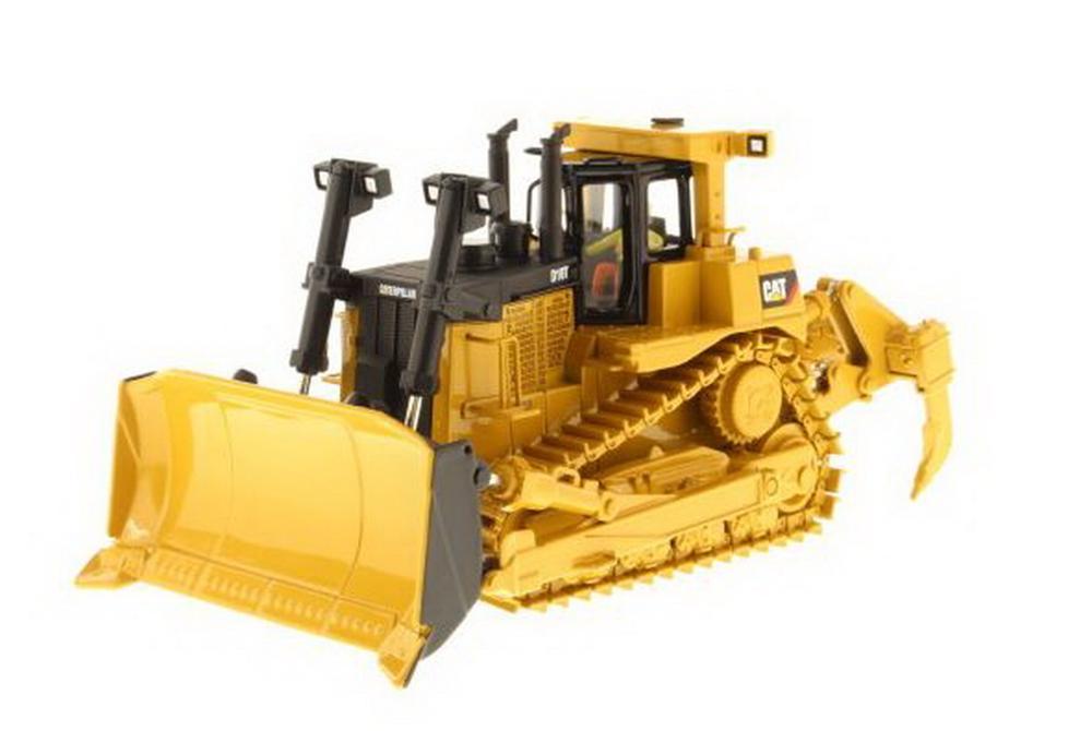 Modèle moulé sous pression de tracteur de Type chenille Cat D10T à l'échelle Masters 1/50 modèle #85158