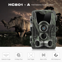 Outlife HC 801A Hunting Cameras 0.3s Trigger 16MP IP65 120 Degree 1080P HD PIR Sensor Night Vision Hunting Trail Camera