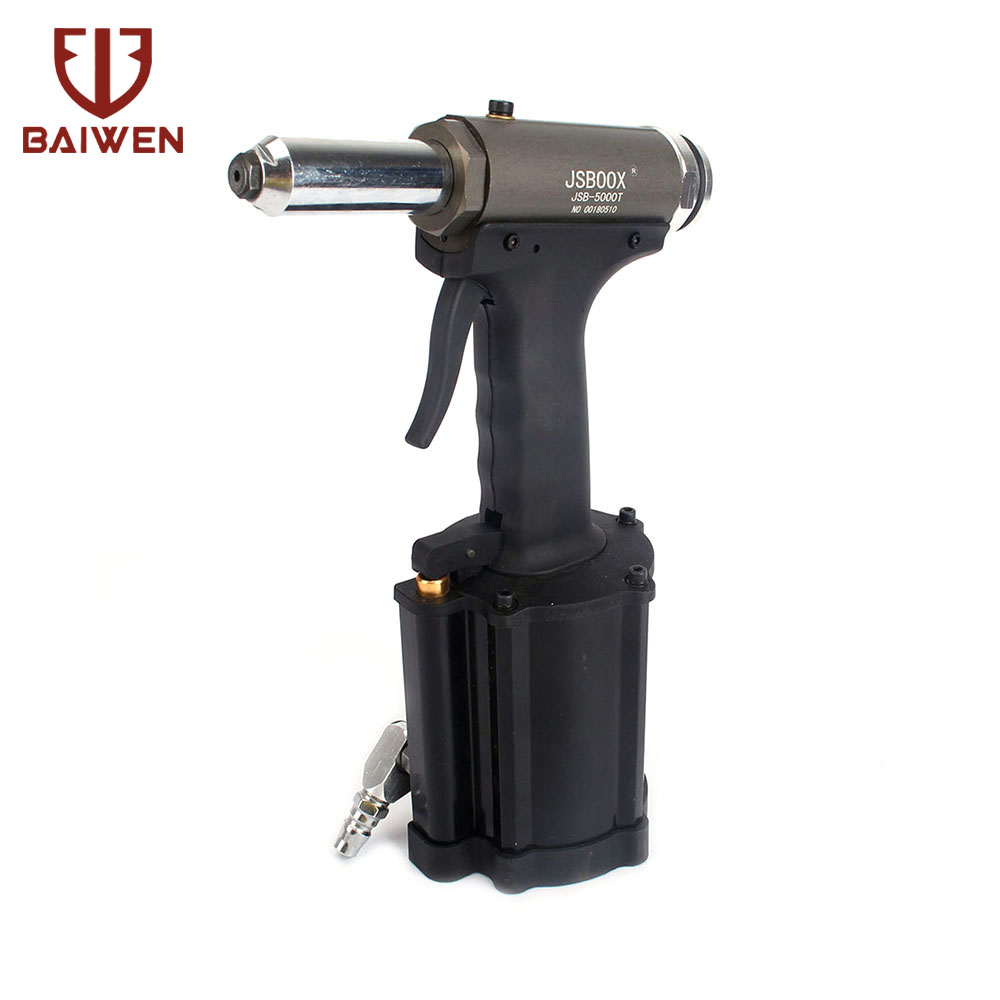 Industrial Air Hydraulic Riveter Rivet Gun Pneumatic Riveting Tool Kit 4 4 8 6 4mm