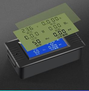 Image 2 - DYKB AC Combo mètre ca 110V 220V 100A tension numérique voltmètre dénergie ampèremètre puissance courant Watt fréquence LCD indicateur 10A