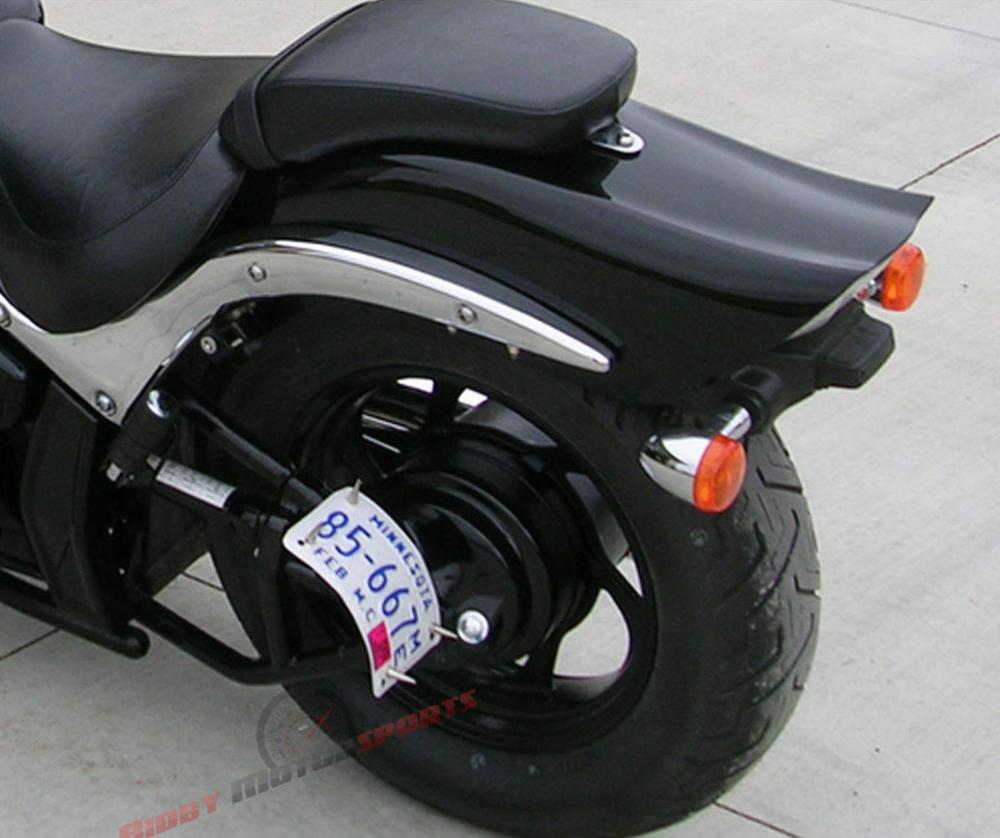 Black CNC Tag Bracket Plate Swingarm for Kawasaki NINJA ZX6R 7R 9R  12R ZX14