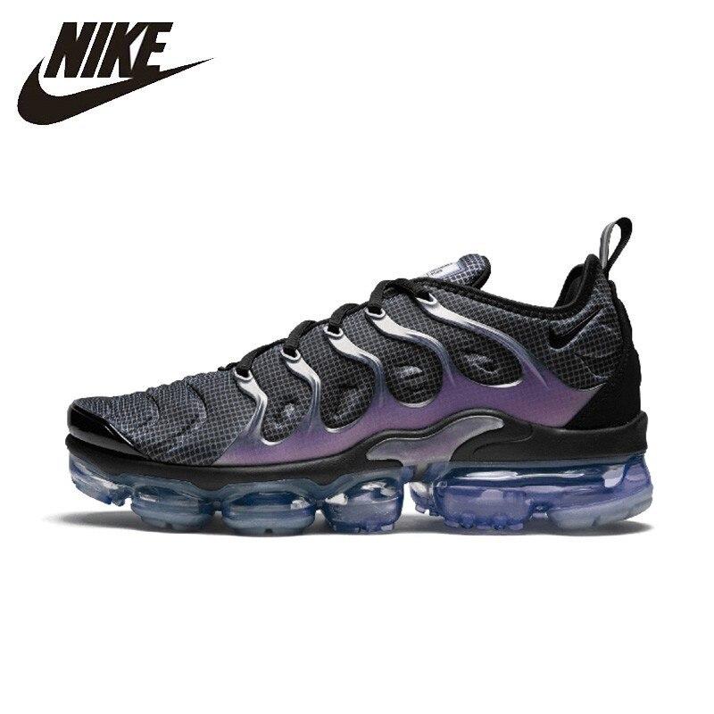 Nike officiel Air Vapormax Plus homme chaussures de course coussin d'air respirant sport baskets 924453-014