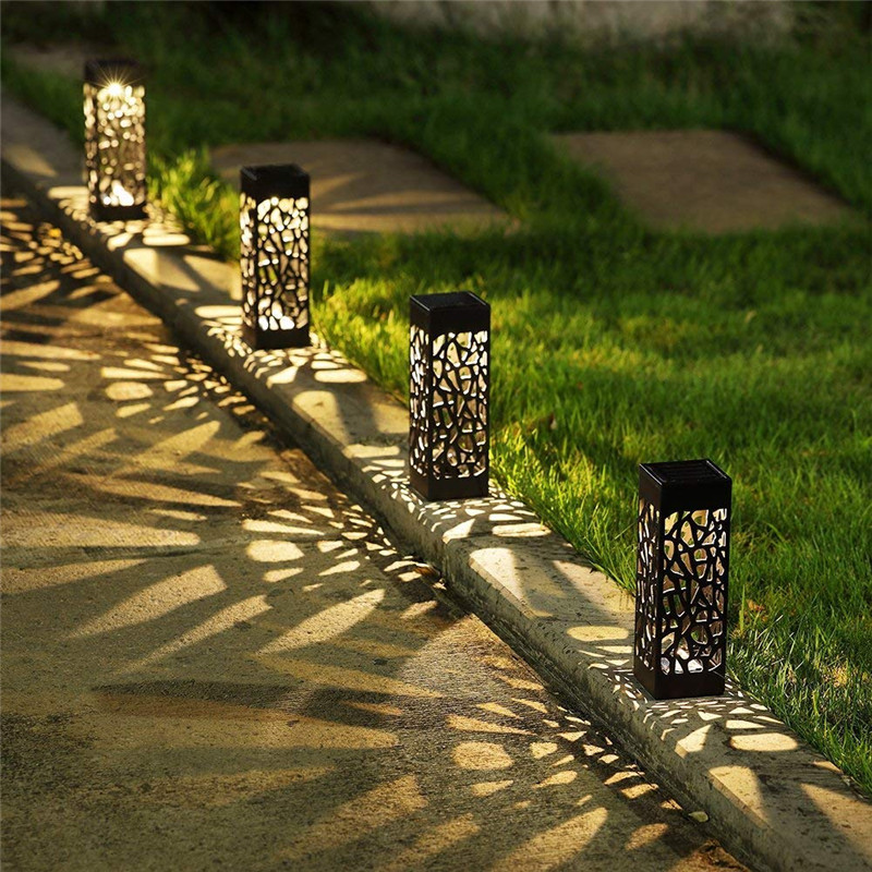 Solar Lawn Lamp Garden Pathway Lights