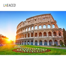 LaeaccoColosseum Remains Scenic Portrait Backdrop Photography Backgrounds Customized Photographic Backdrops For Photo Studio mysterious scenic backdrop h0559 10ft x20ft hand painted backdrops photography fondo fotografico backgrounds for photo studio