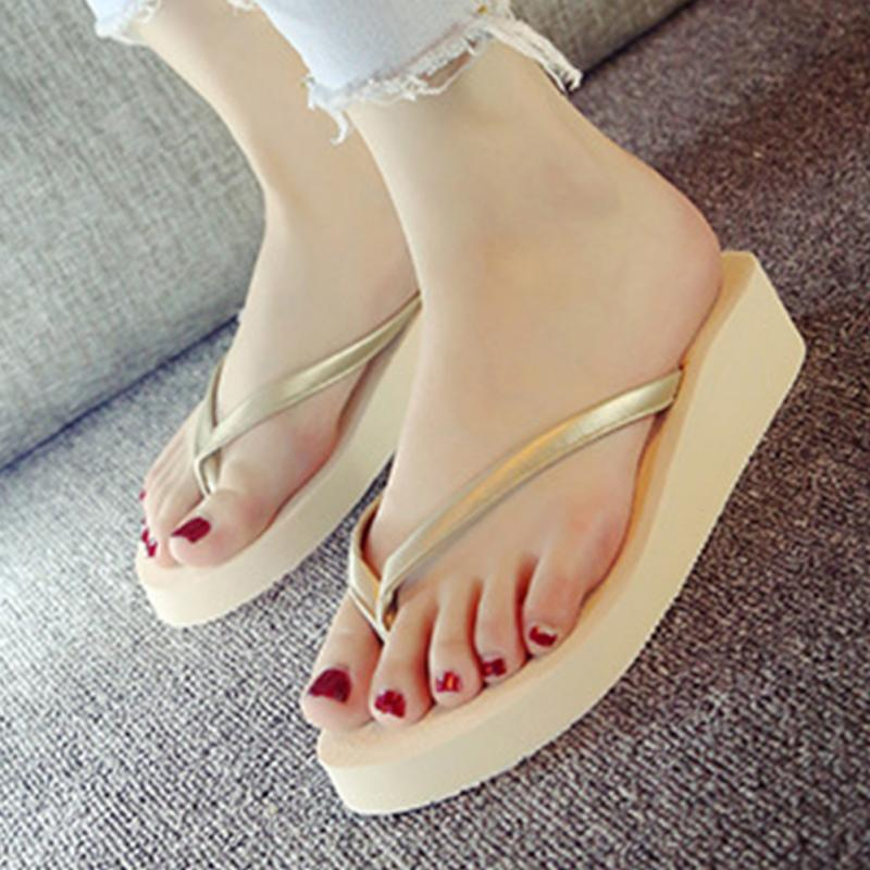 Rainbow Brand Wedge Flip Flops
