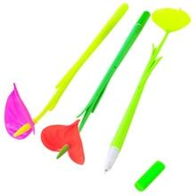 6pcs creative flower gel pen office stationery