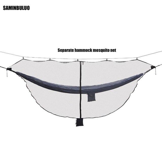 Легкий Гамак от насекомых комаров чистая Легкая установка наружные двойные гамаки на одну персону для 360 градусов защиты двусторонний молнии