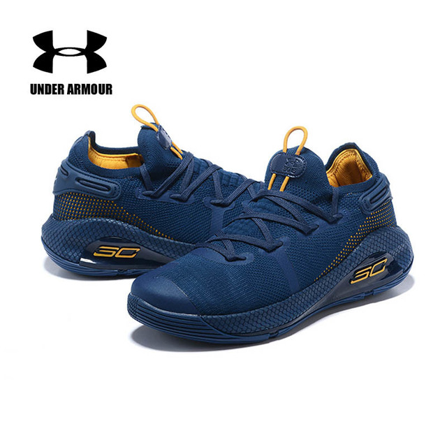 59fbc6e127f 2019 UA Under Armour Men Curry 6 Basketball Shoes Zapatillas Hombre  Deportiva Outdoor Training Cushion Sneakers US 7-12 8colors