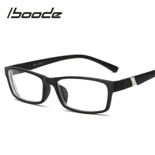 iboode Anti Blue-ray Myopic Glasses Myopia Eyeglasses Women Men Fashion Short Sight Eyewear -1.0 -1.5 -2.0 -2.5 -3.0 -3.5 -4.0