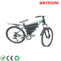 Free shipping oxford fabric ebike battery triangle frame bag 36V 48V 52V Mountain Bike Triangle Li ion Battery Storage bag