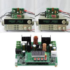 Image 5 - DC DC الرقمية 2 في 1 الجهد خطوة المتابعة تنحى وحدة دفعة قابل للتعديل محول مجلس 38 فولت 6A جودة عالية