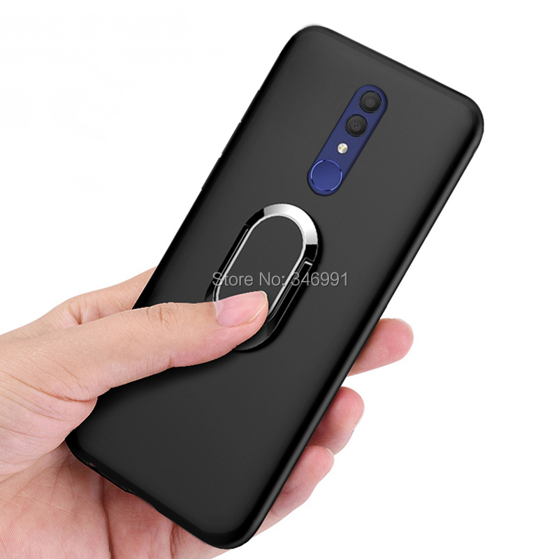 60ccf616610158 Cover for Alcatel 3 2019 5053Y 5053D 5053K Case luxury 5.94 inch Soft Black  Plastic Coque for Alcatel 3 2019 Phone Cases-in Half-wrapped Cases from ...