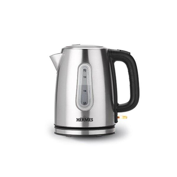 Чайник электрический HERMES technics, HT-EK 705, 1,7 л, 2200W электрический чайник hermes technics ht ek704 ek16159 золотой