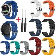 2019 тканый нейлон/силиконовый ремешок для Garmin Fenix 5s/5s Plus Watch