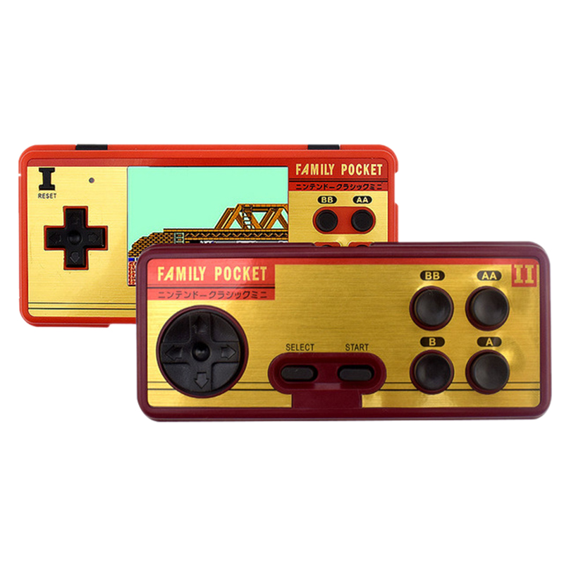 Data Frog Portable Handheld Game 2 Players Built In 638 Classic Games Console 8 Bit Retro Video Game For Gift Support AV Out P