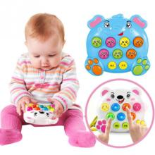 Детские Пластиковые Музыкальные инструменты, игрушки для игры, стук, хит, хомяк, насекомое, игра, фруктовый червь, развивающая игрушка, забавный подарок для ребенка