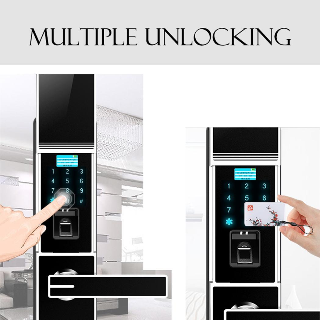 Hojojodo X1 Digital Door Lock Fingerprint Touch Password Anti-theft Home Security Handle Key Intelligent Electronics