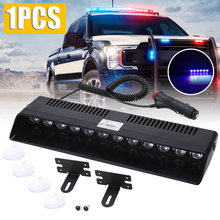 Police Light Strobe Flasher Warning Signal 12 LED Car Truck Emergency Day Running Flash Led Lights