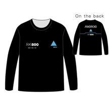 Hot Detroit: Become Human T-shirt Men Tops Unisex Cosplay dress  Long sleeve concept T shirt Tees