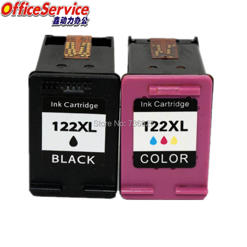 122 Compatible Ink Cartridge For <font><b>HP122XL</b></font>, for Deskjet2050 2510 3000 3050A 3052A 3054A 3540 1010 1510 2540 1000 1050 2000 printer image