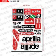 KUNGFU графика MX Гонки наклейки виниловый лист с наклейками граффити бомба декор для APRILIA логотип мотоциклетный шлем грязи велосипед поворота