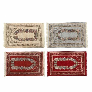 Image 1 - 110*70CM Muslim Prayer Rug Carpet Mat Ramadan Eid Gift Cotton Kneeling Carpet Yoga Mat Turkish Islamic Bedroom Home Decor
