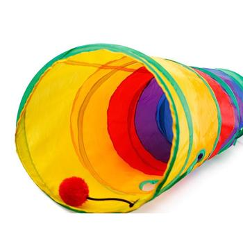 Foldable Tunnel Cat Toy 2/3/5 Holes  4